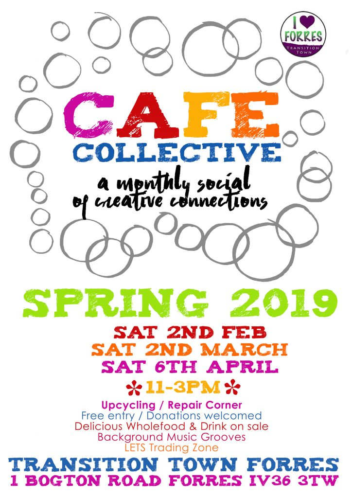 Cafe Collective spring 2019 poster